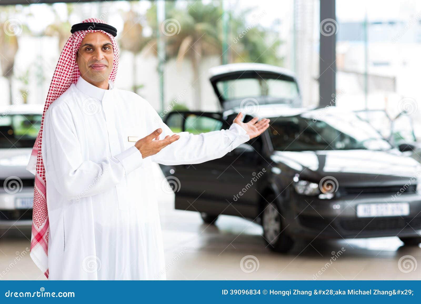 vendeur de voiture arabe photo stock image 39096834. Black Bedroom Furniture Sets. Home Design Ideas
