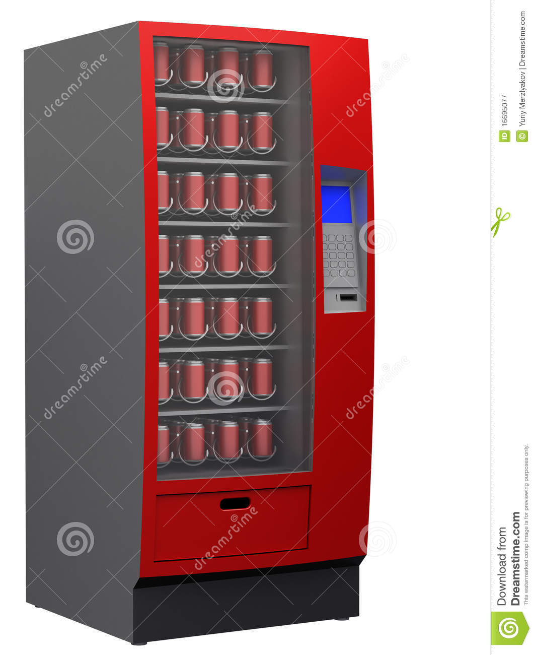 Vending Machine Royalty Free Stock Photography Image