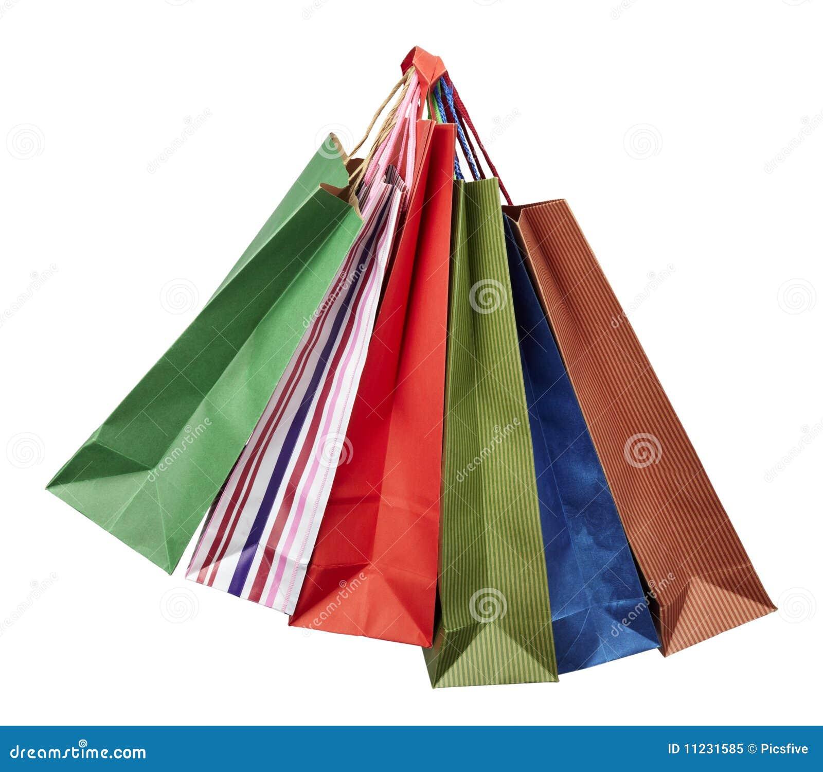 Vendita al dettaglio di consumismo del sacchetto di Shoping