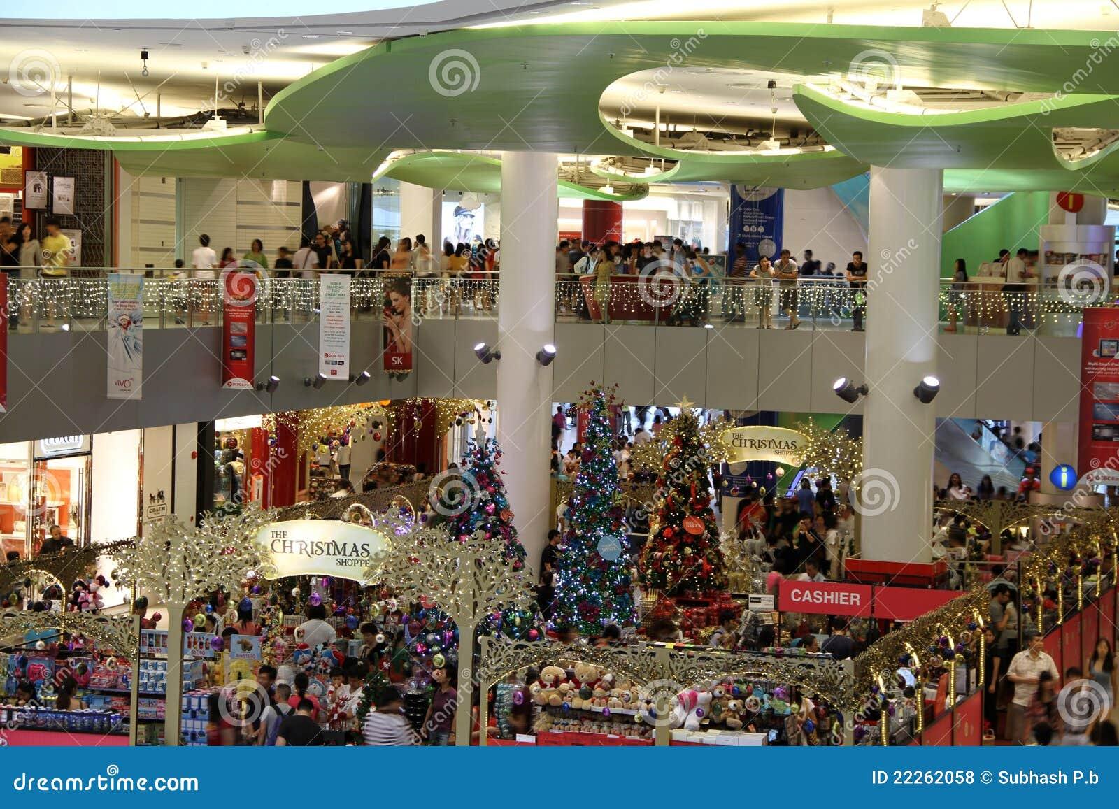 Vendite di natale a Singapore