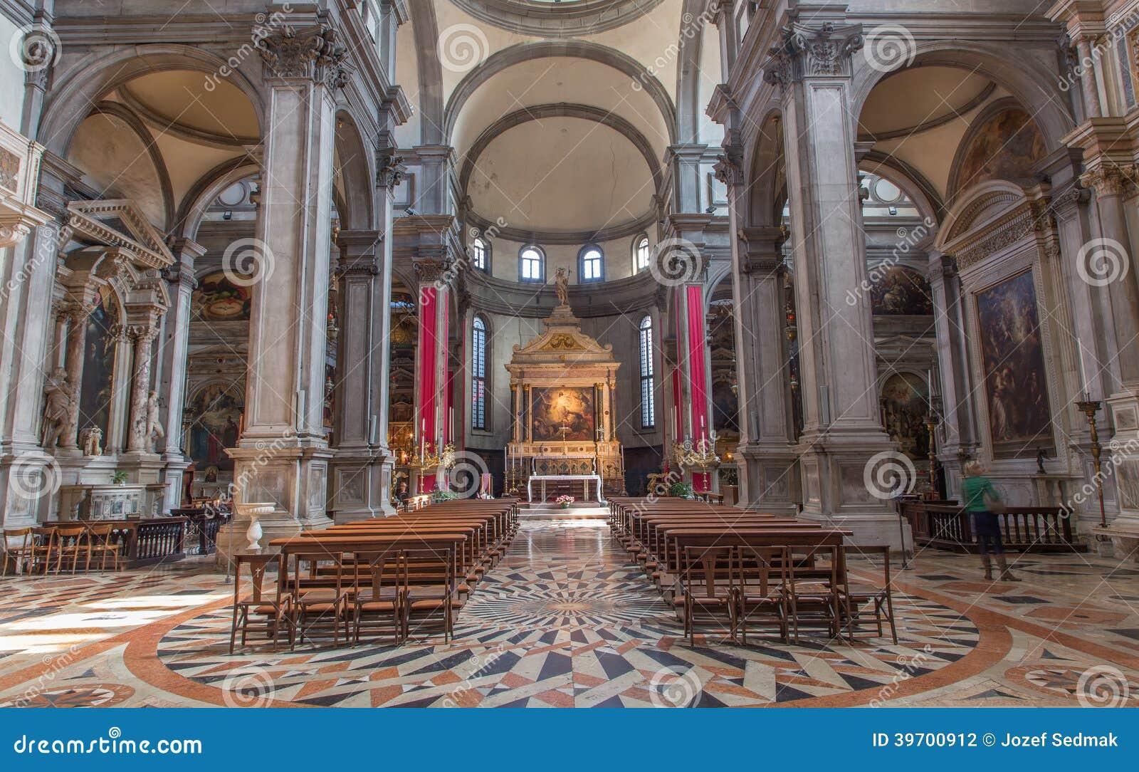 Venecia - Di Santa Maria Del Giglio Del Chiesa De La Iglesia