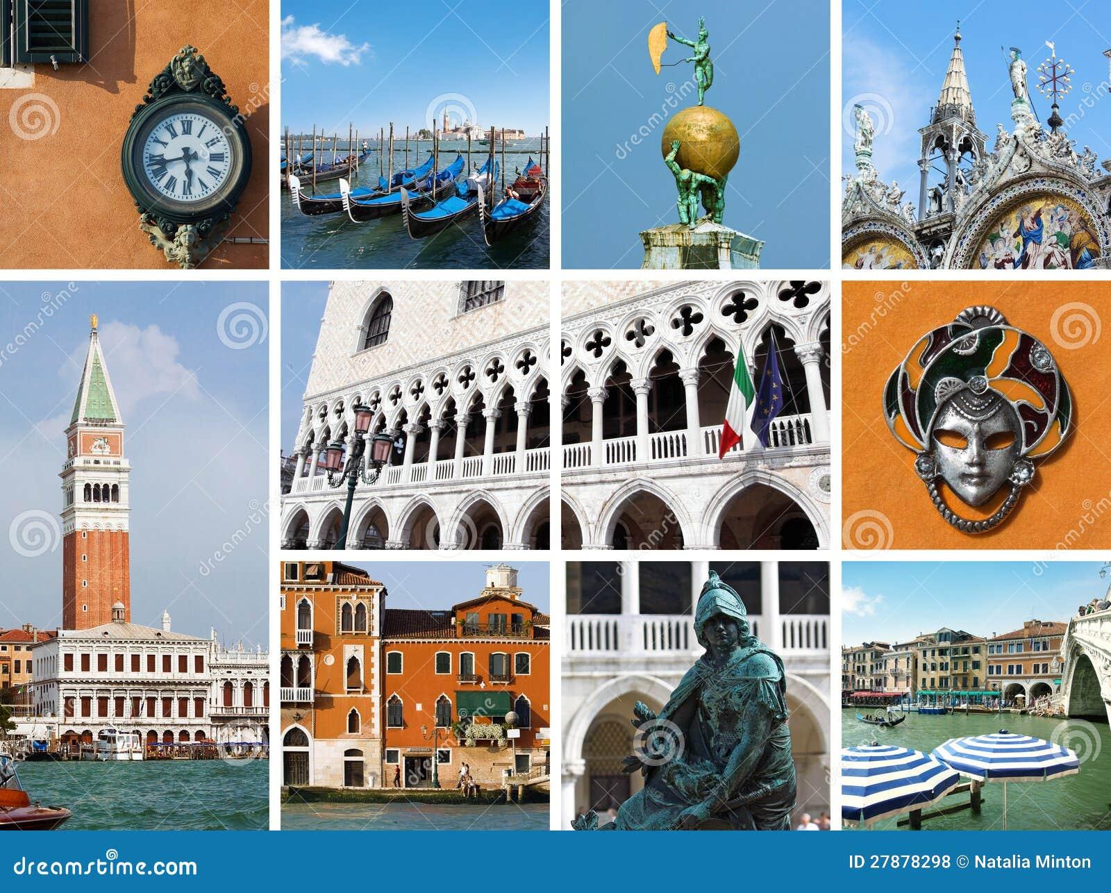 Venedig collage
