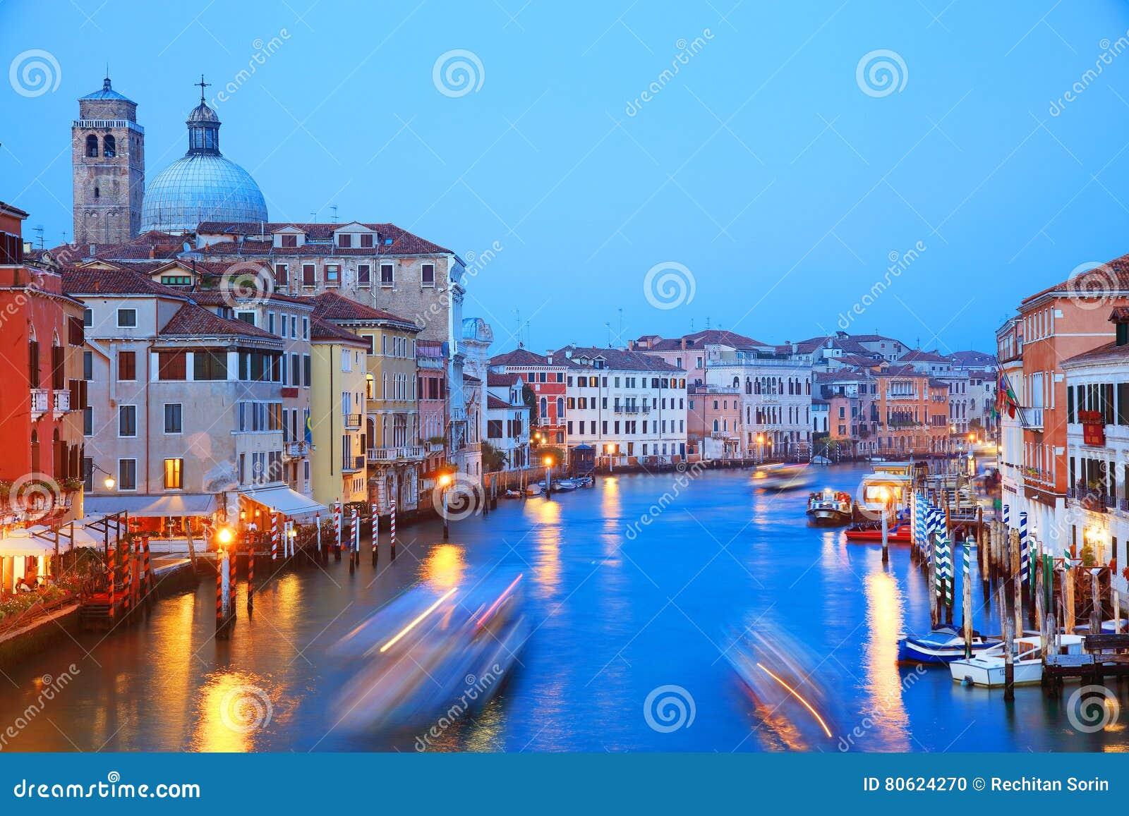 Venedig im Sonnenunterganglicht