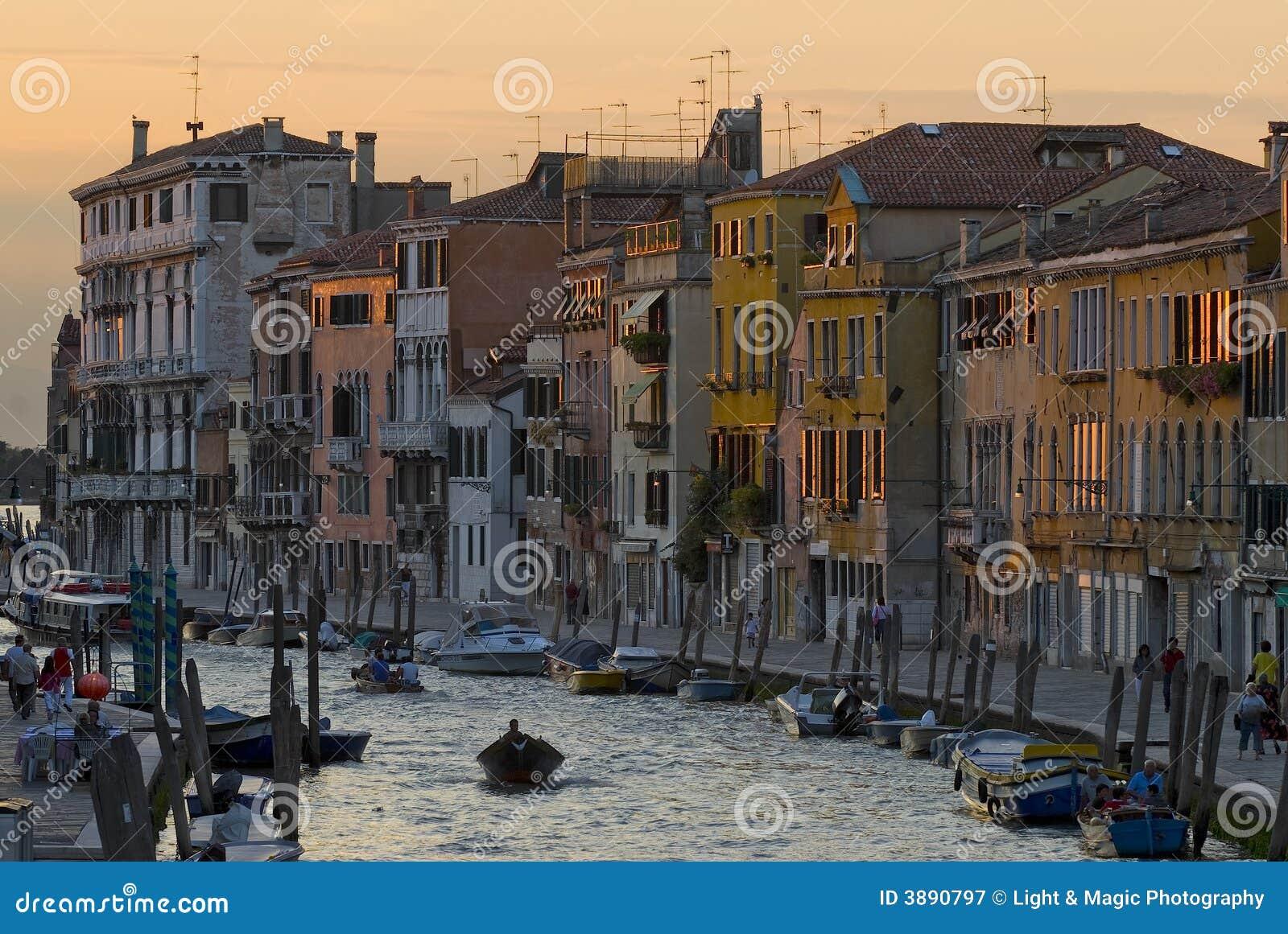 Venedig-Kanal