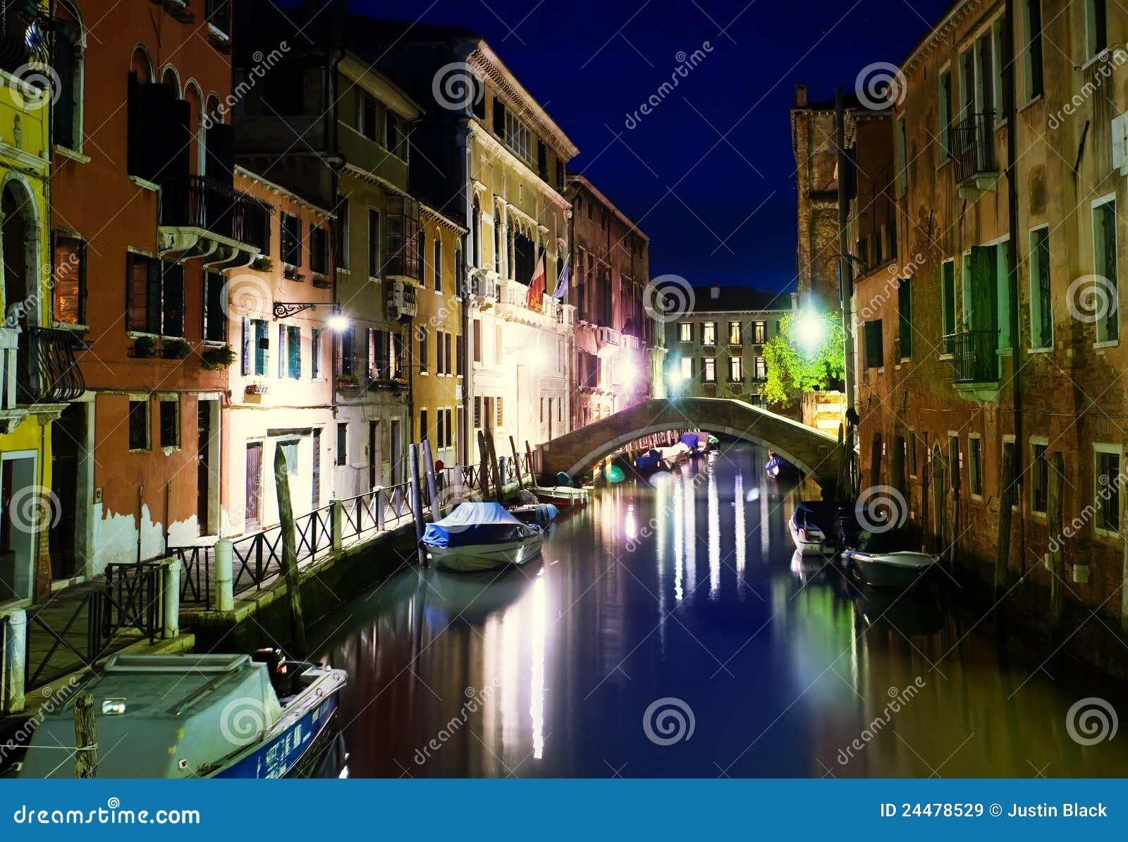 Venedig-Kanal, Italien