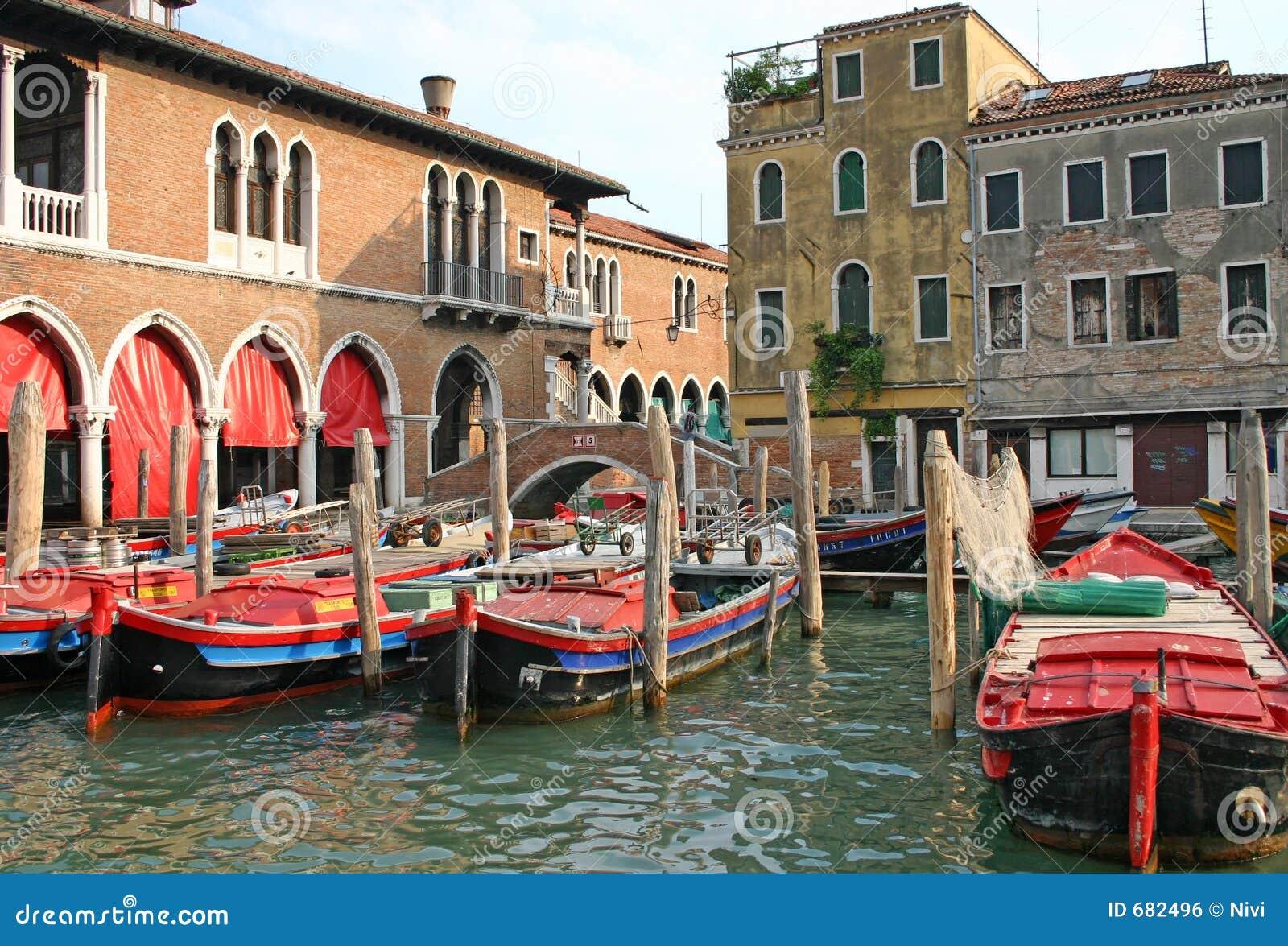 Venedig-Marktplatz