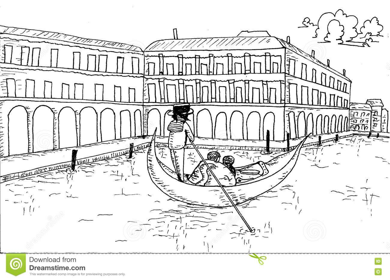 Architectural Styles Coloring Pages