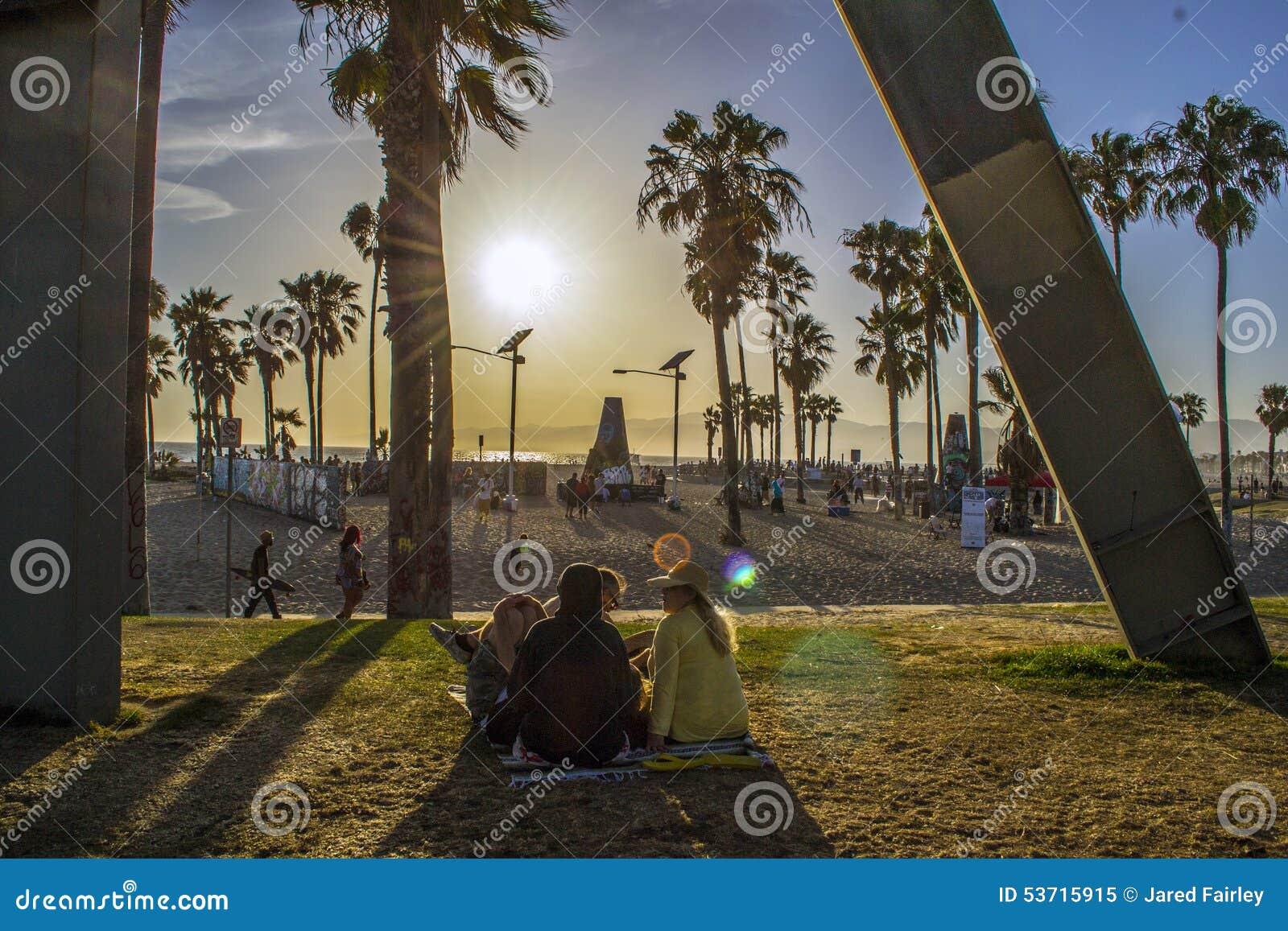 Venedig-Strand-Promenade