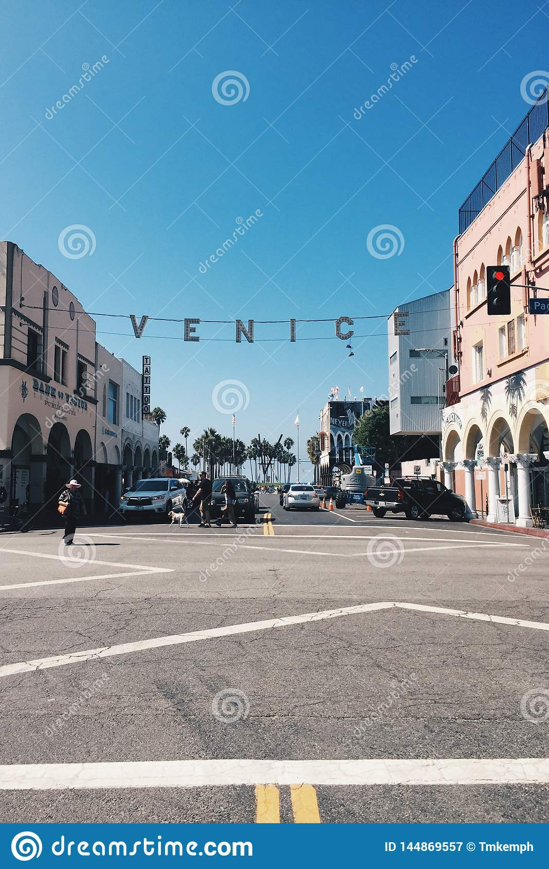 Venedig strandKalifornien tecken