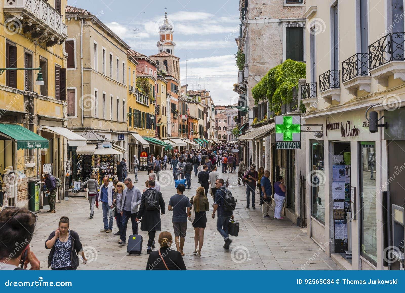Venetië in Italië