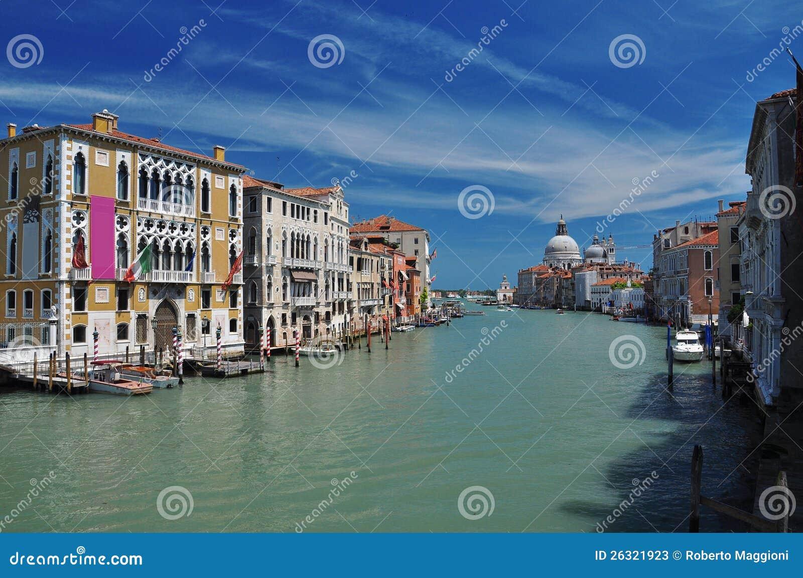 Venetië, Italië. Kanaal Grande
