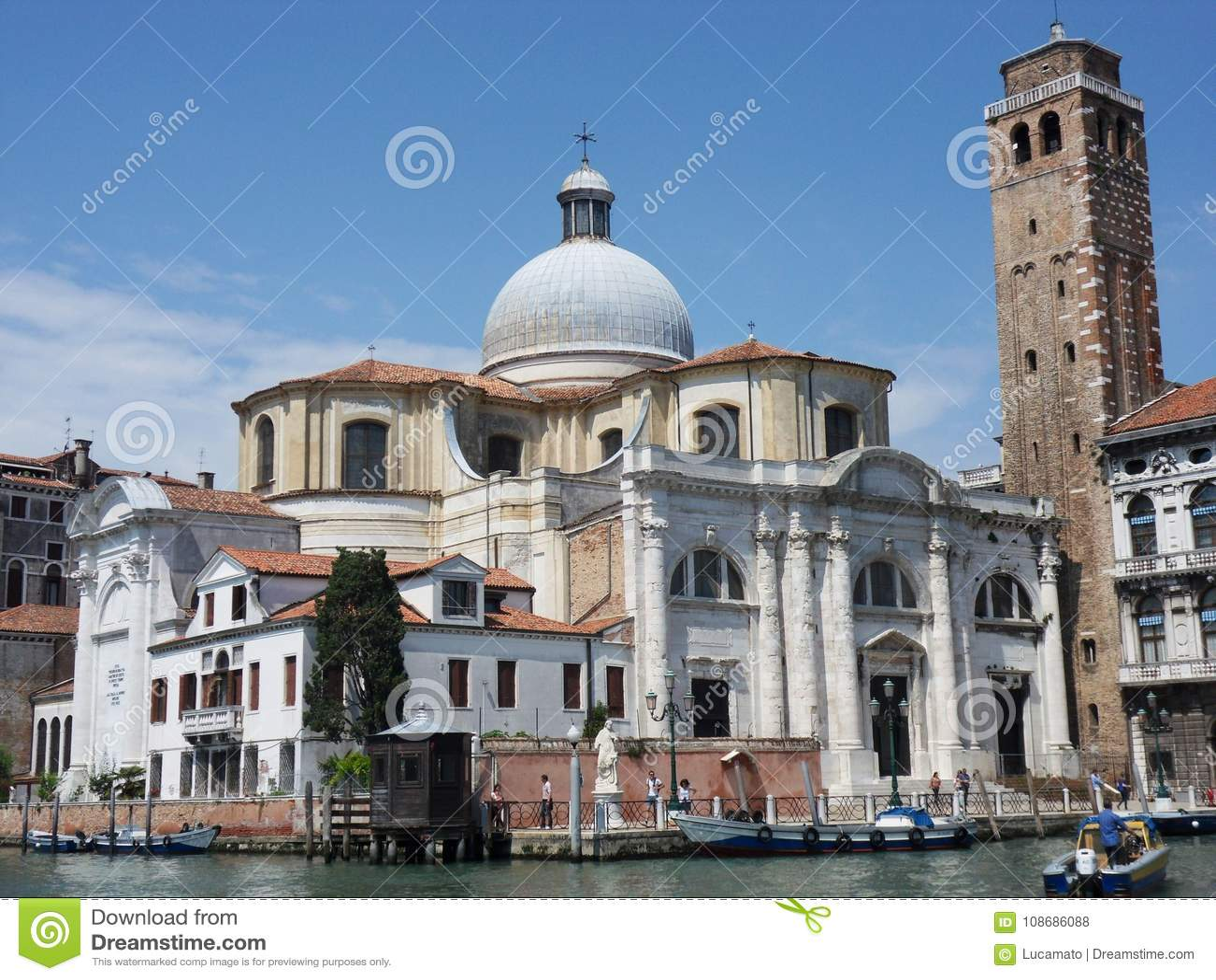 Venetië - Kerk van San Geremia
