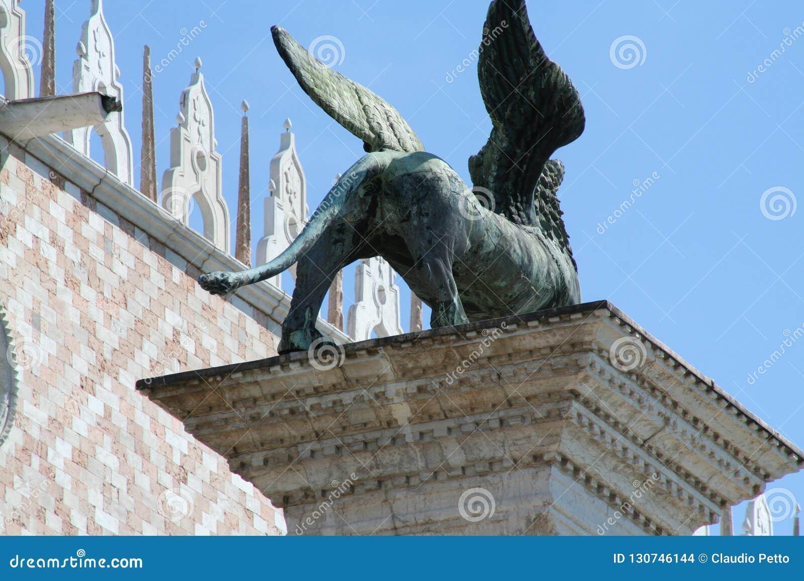 Venetië, kolom van San Marco
