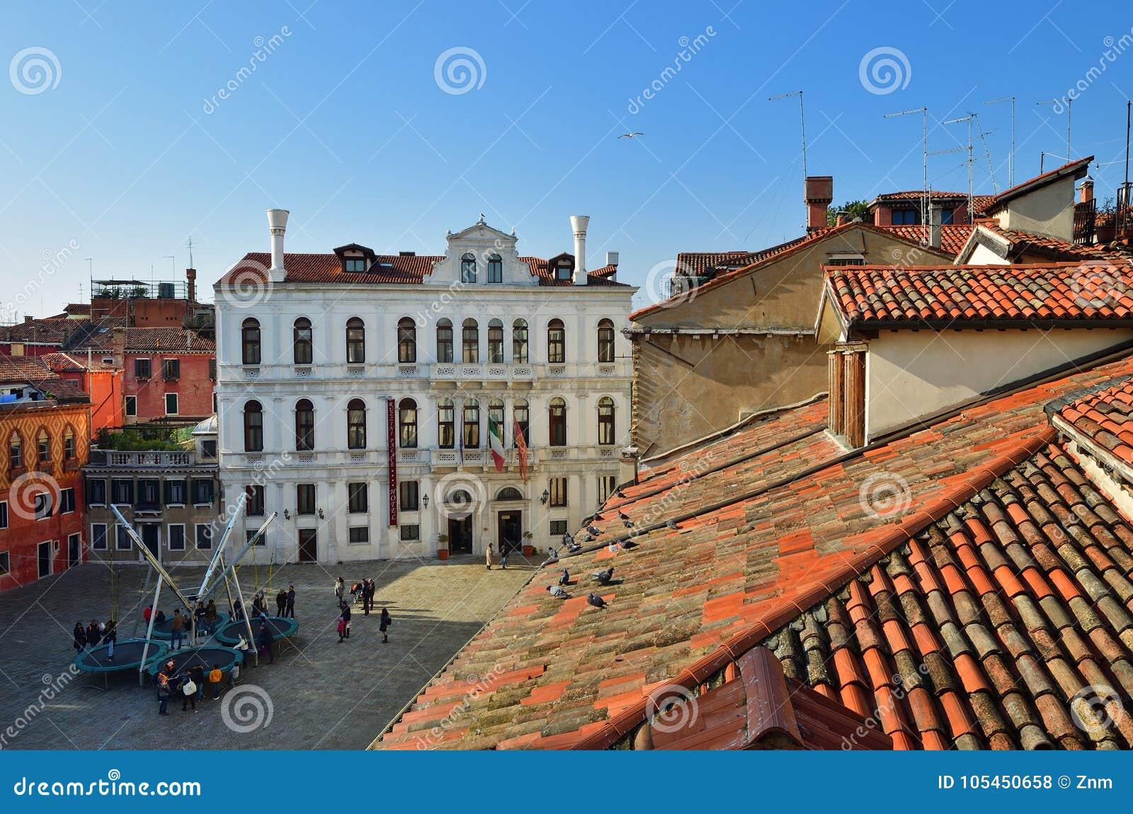 Venetië van hierboven