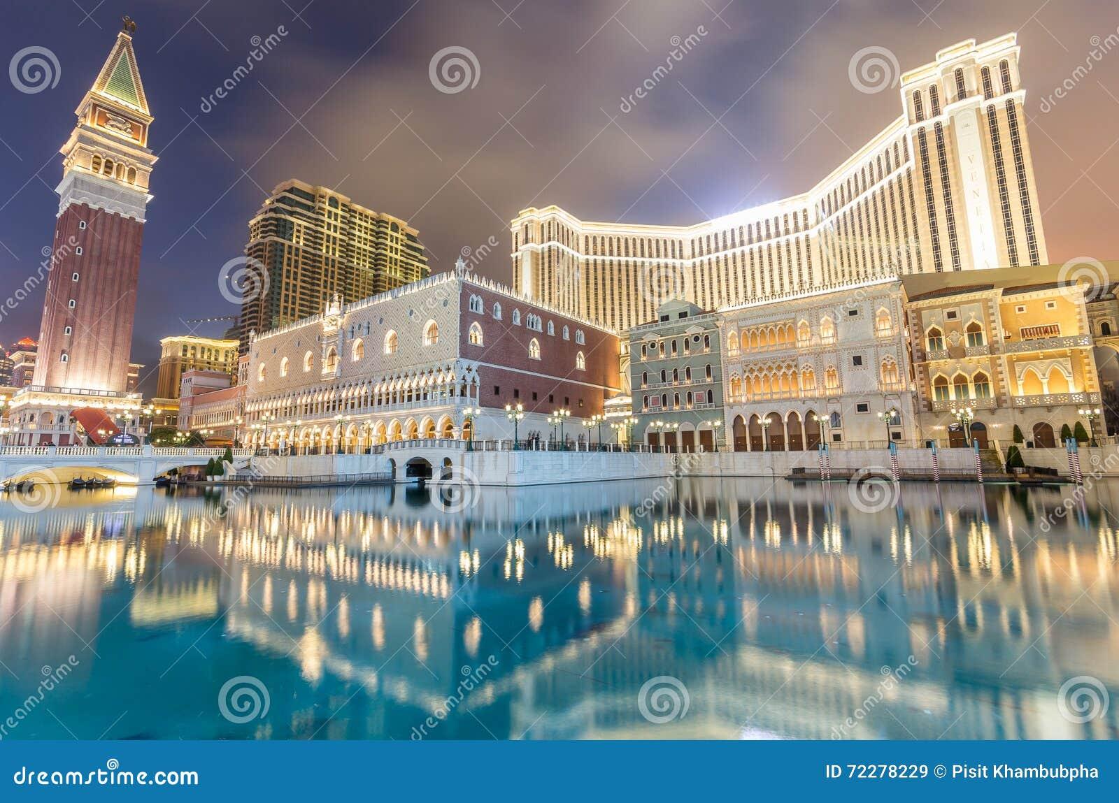 Download Venetian Макао редакционное стоковое изображение. изображение насчитывающей цвет - 72278229