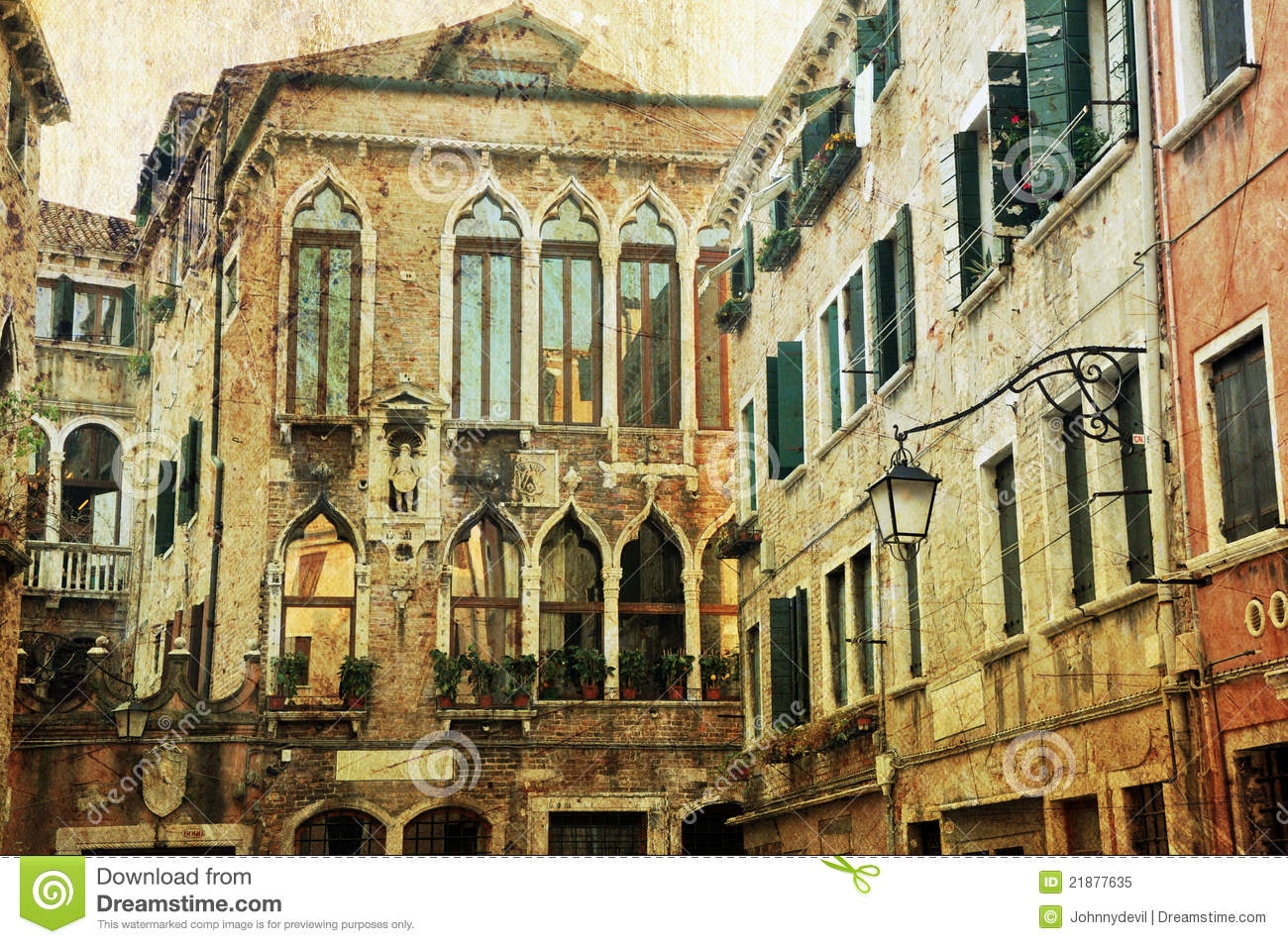 venetian architecture royalty free stock photo image 21877635