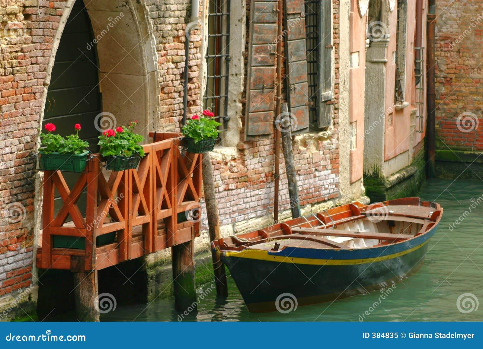 Venetian curbsideparkering