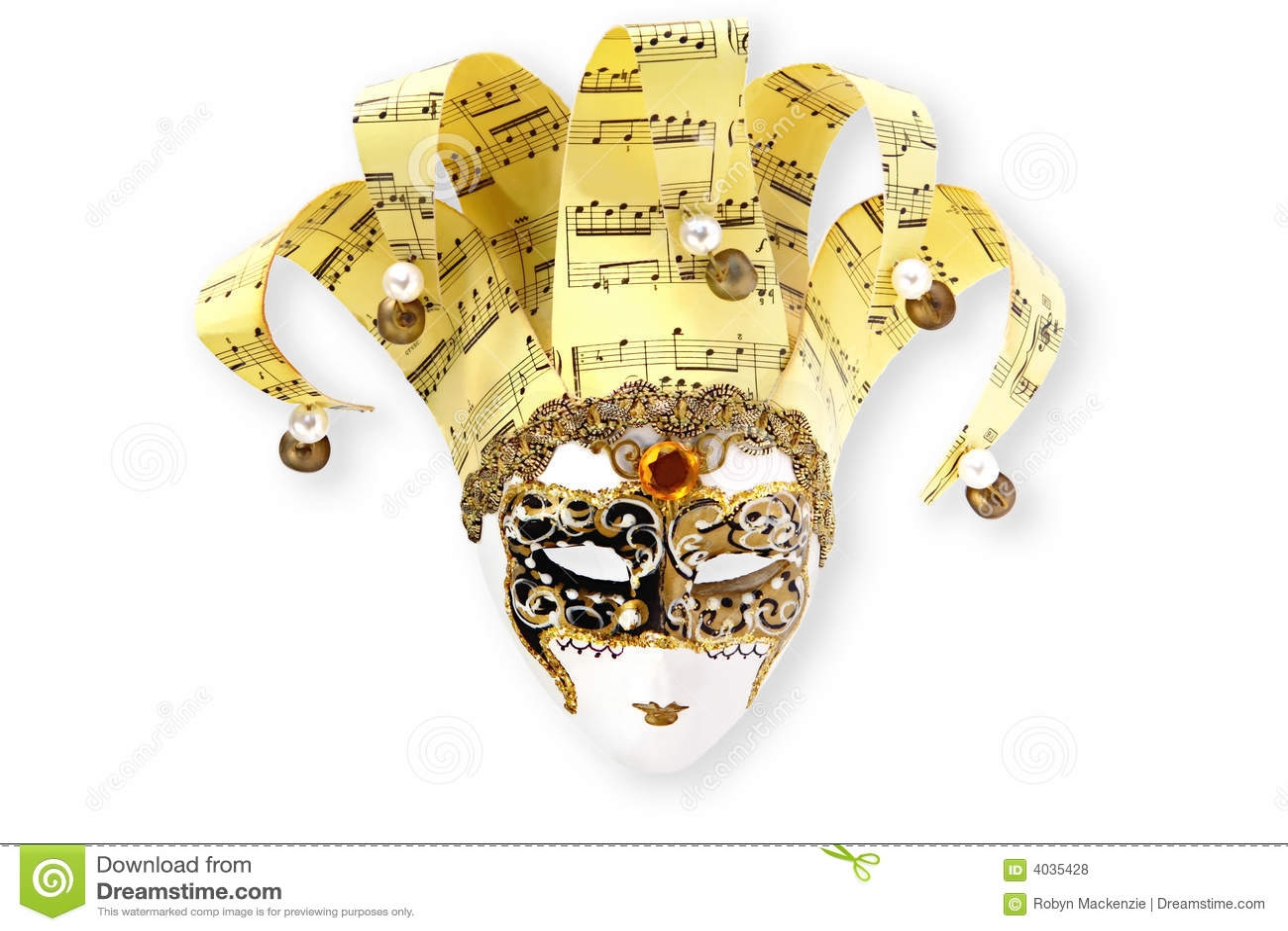Venetian guld- maskering