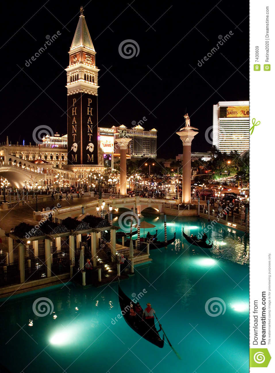 venetian hotel in las vegas editorial stock image image of destination trip 7430609. Black Bedroom Furniture Sets. Home Design Ideas