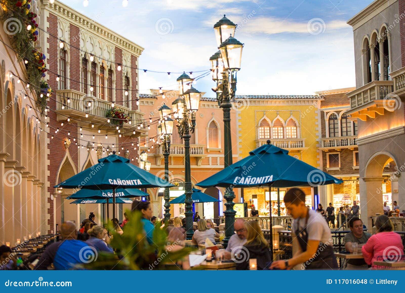 The Venetian Las Vegas Resort Hotel Editorial Stock Photo
