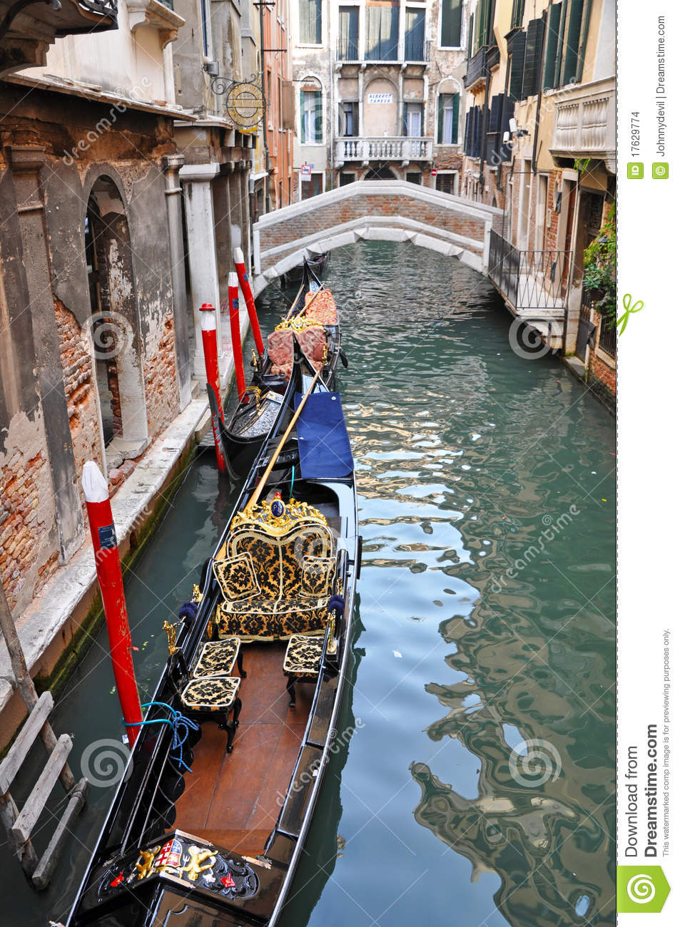 Venetian Narrow Water Channel