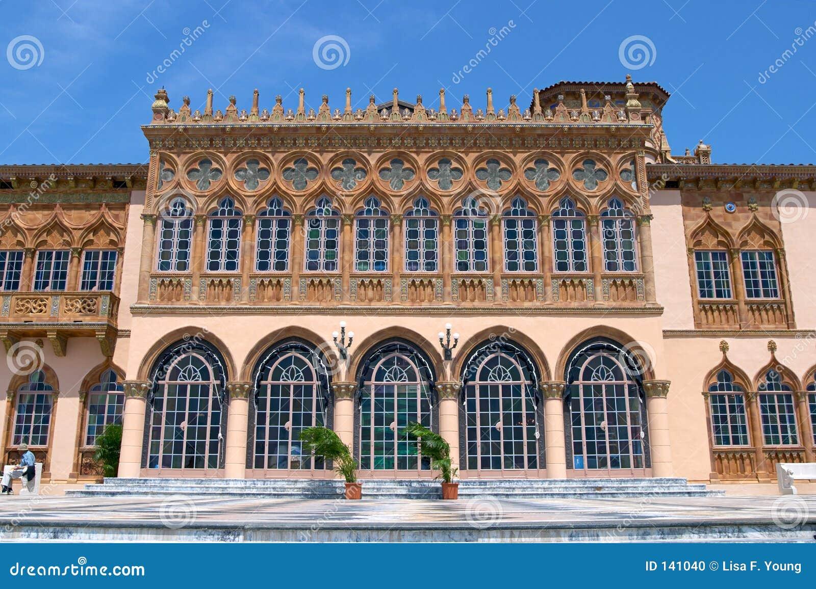 Venetian Style venetian style palazzo stock photo - image: 141040