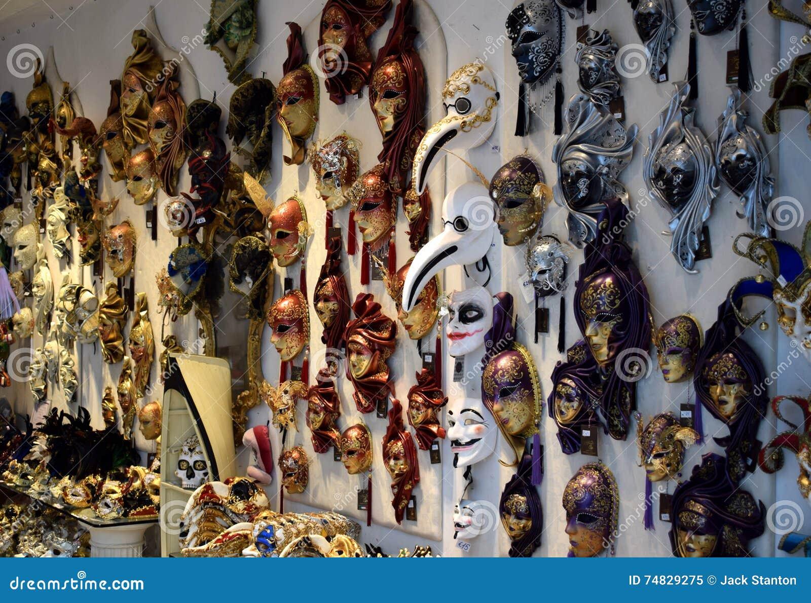 Venetianische Maskerade-Masken