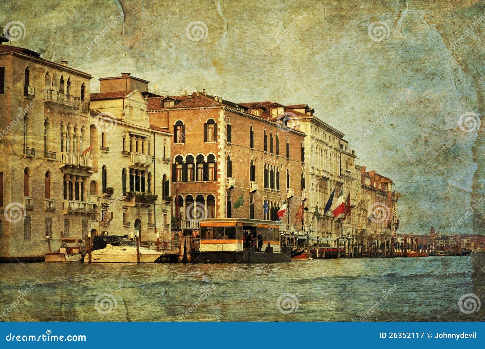 Venetianischer großartiger Kanal