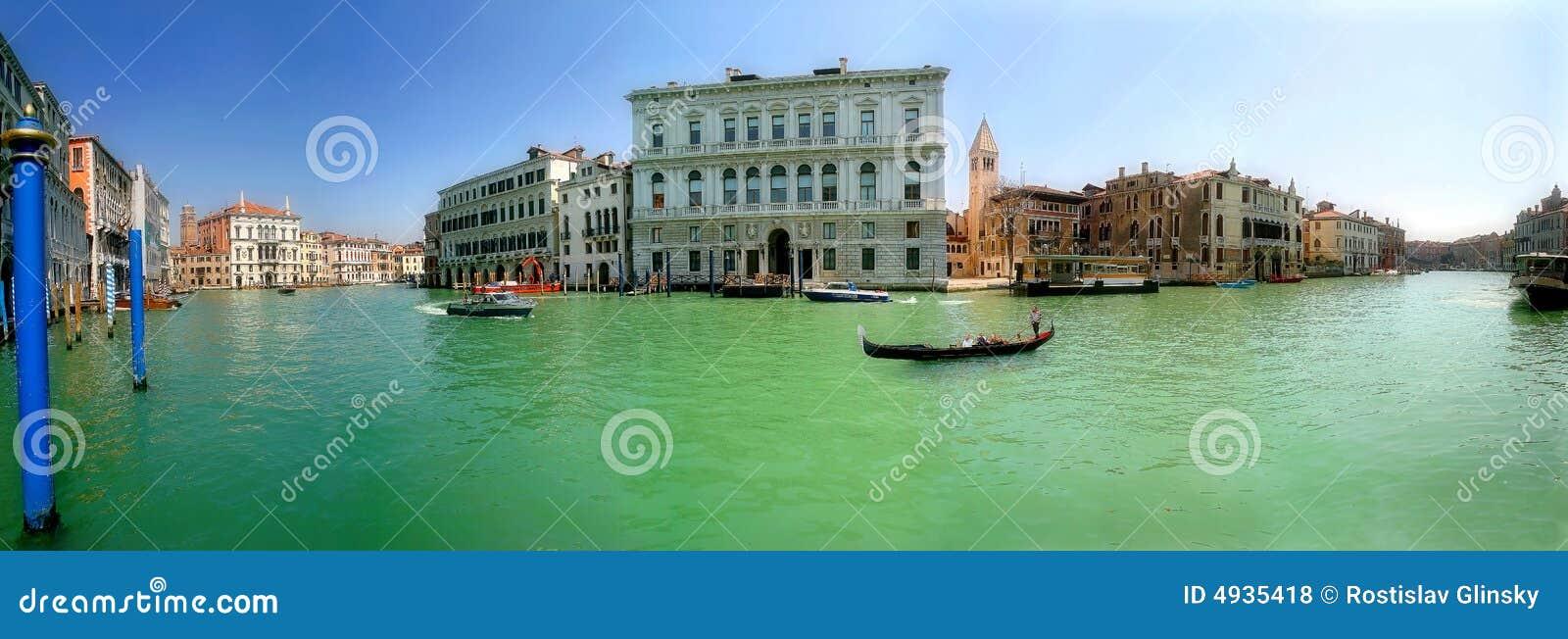 Veneza. Canal grande.