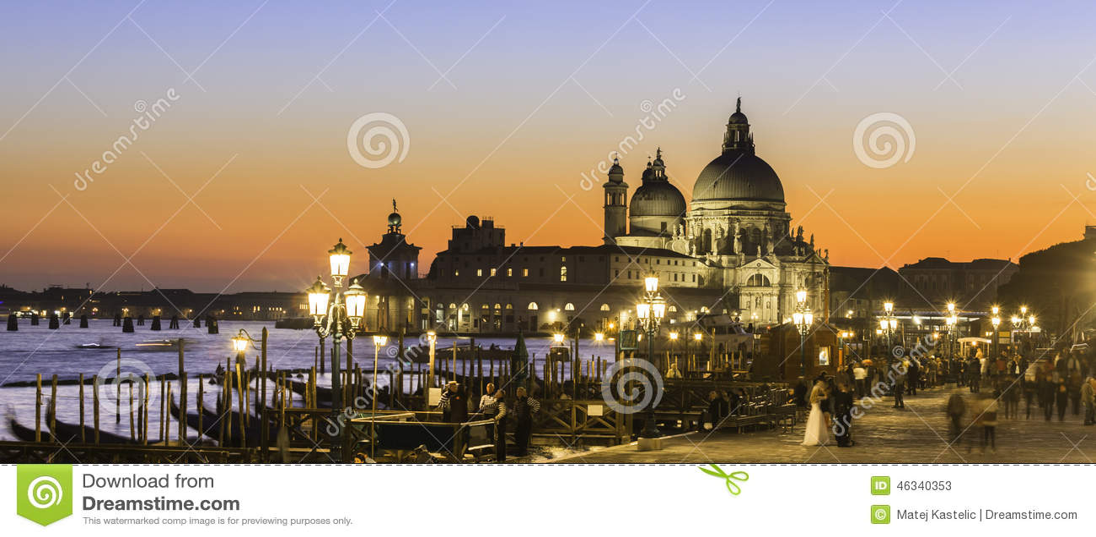 Venezia nel tramonto