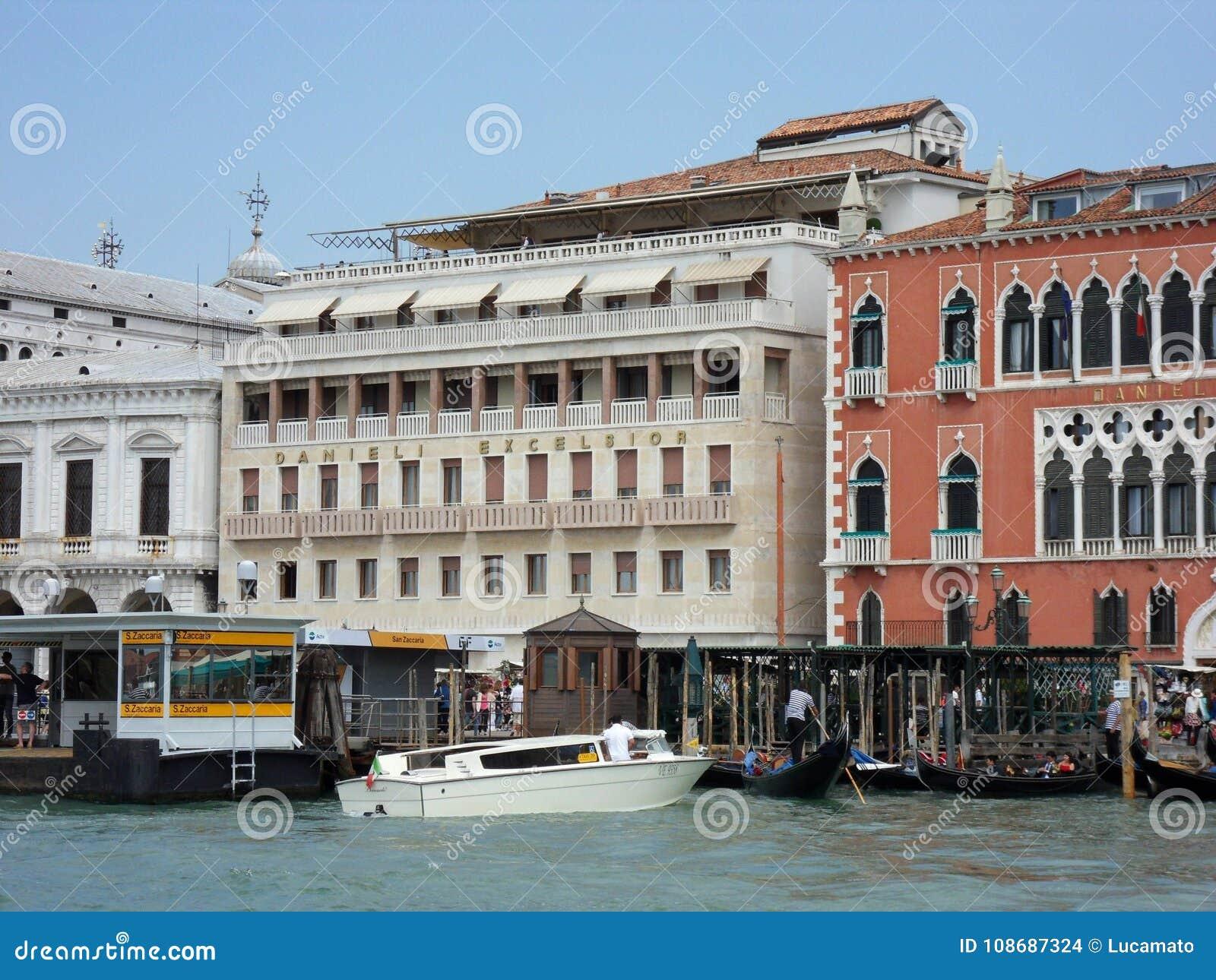 Venezia Truciolo Di Danieli Dell Hotel Immagine Stock