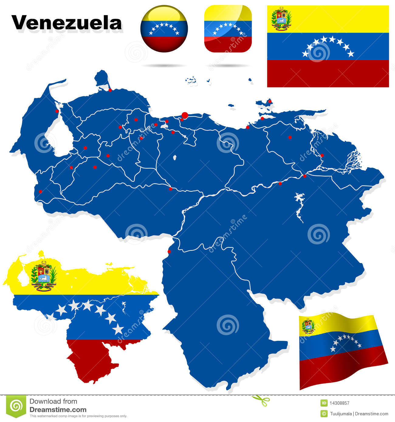 Venezuelan id template 28 images custom flag sticker by venezuelan id template by set royalty free stock photography image pronofoot35fo Gallery