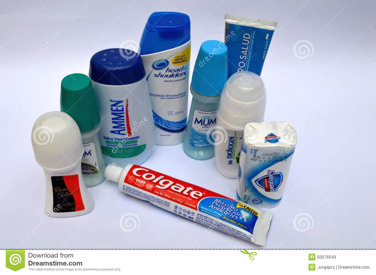 Hygiene and personal care products