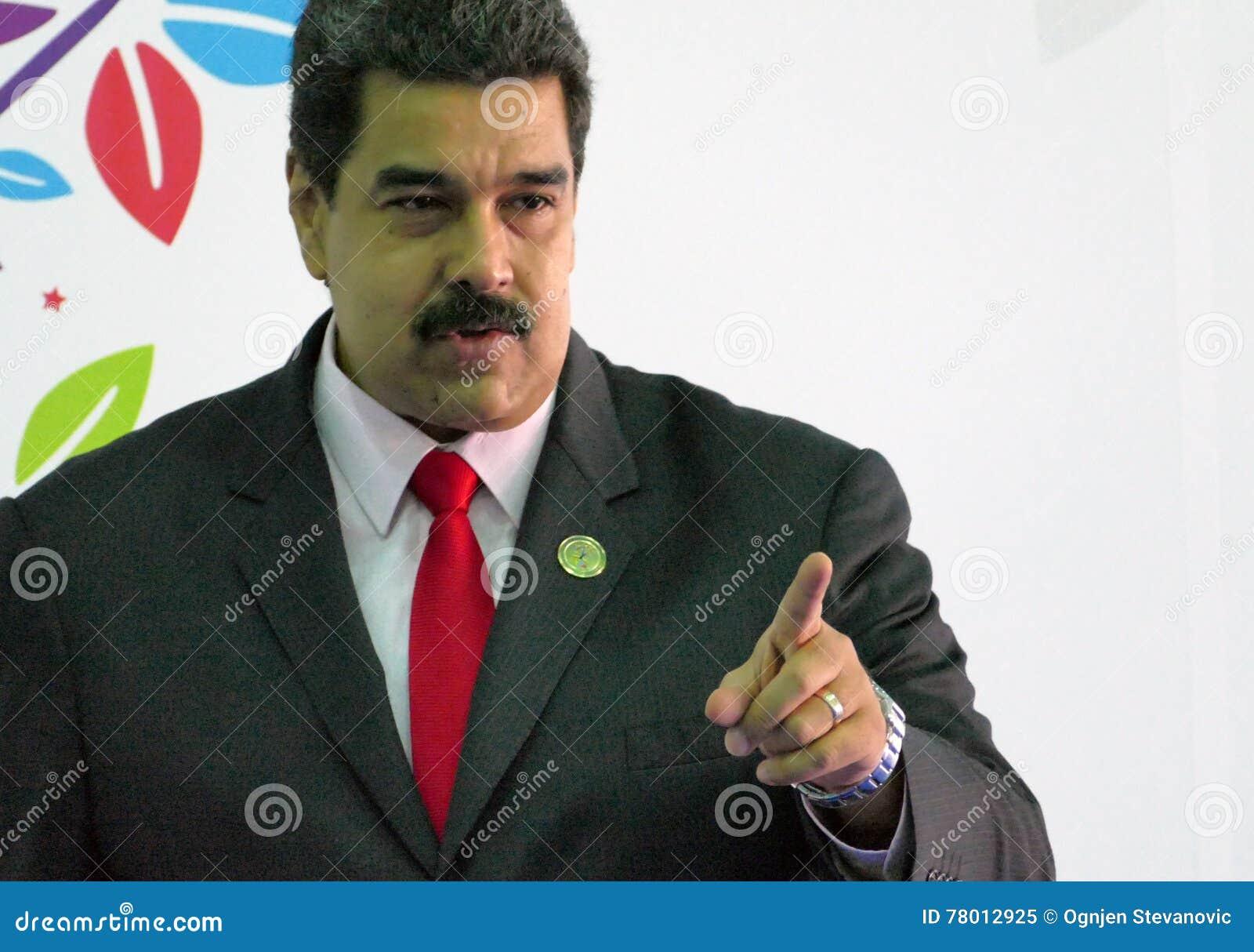 Venezuelansk president Nicolas Maduro