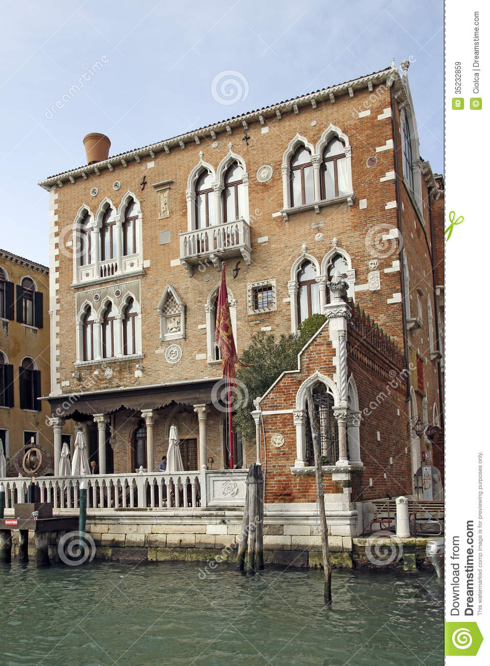 Venice architecture detail editorial stock image image for Architecture venise