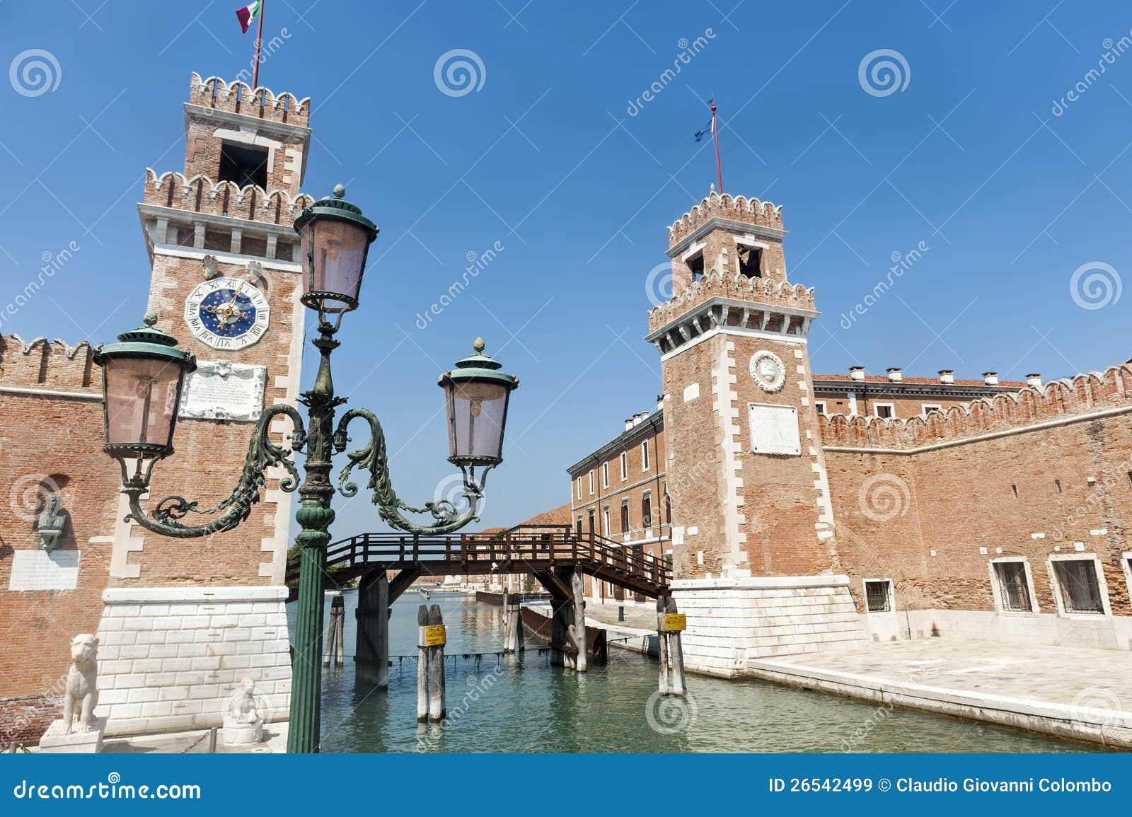 Venice, the arsenal