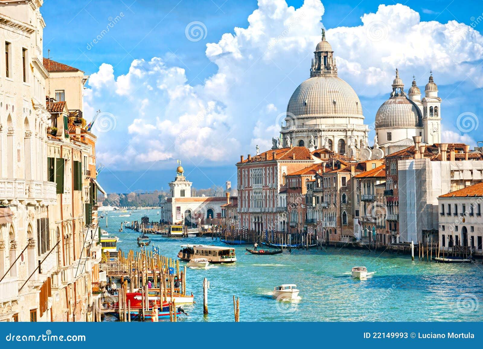Venice, basilica of santa maria della salute. Ita