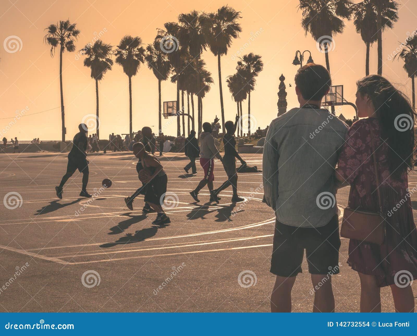 Venice Beach Love Story