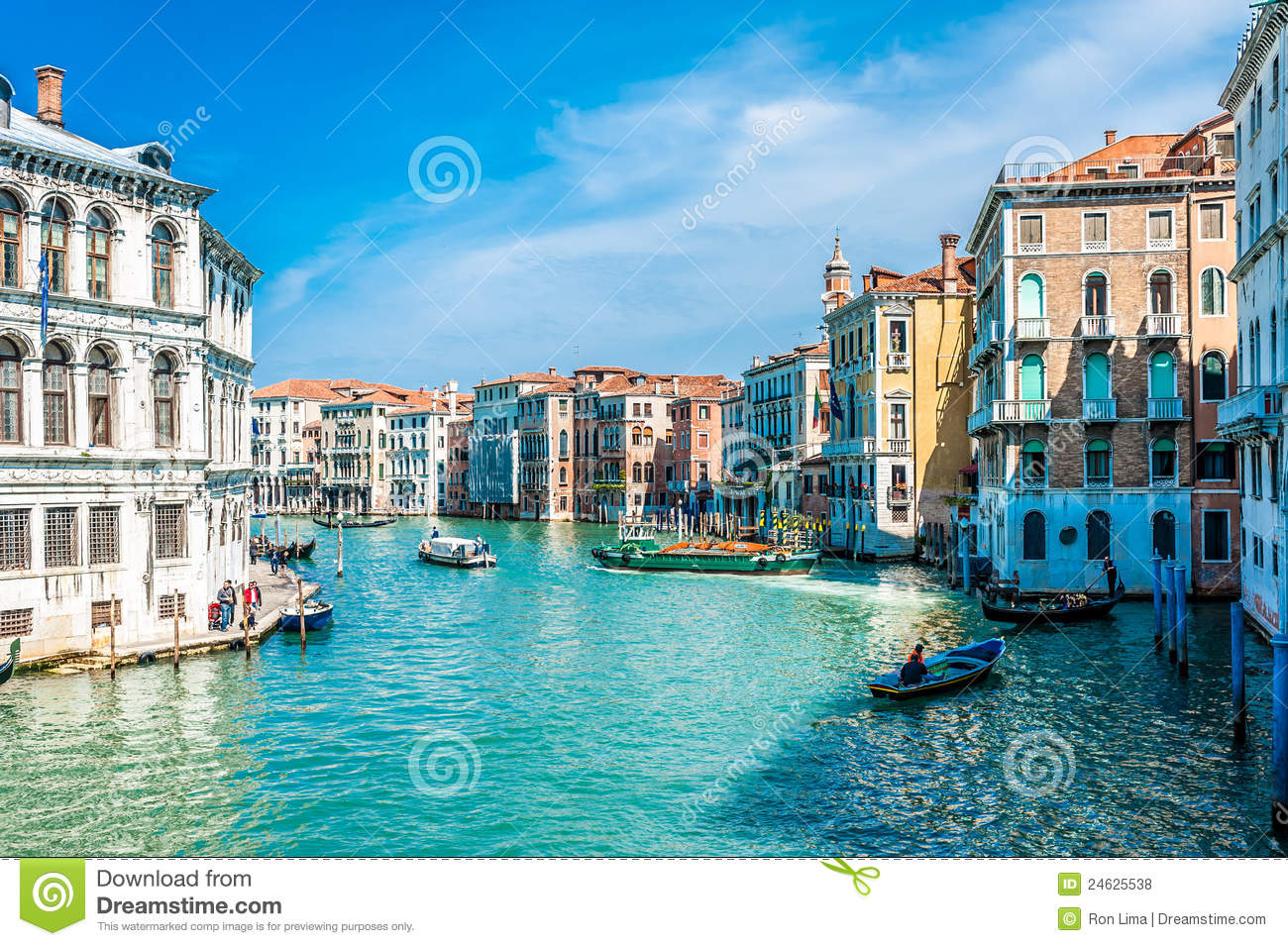 Download Venice - Italy stock photo. Image of landscape, historical - 24625538