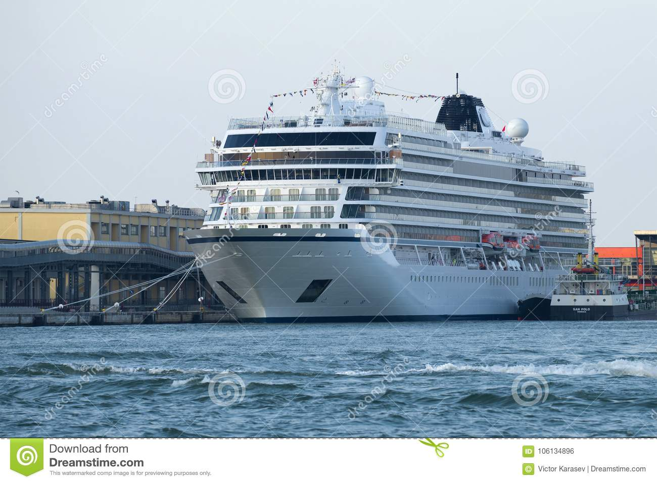 The Newest Cruise Ship Viking Sun Of The Company Viking Ocean