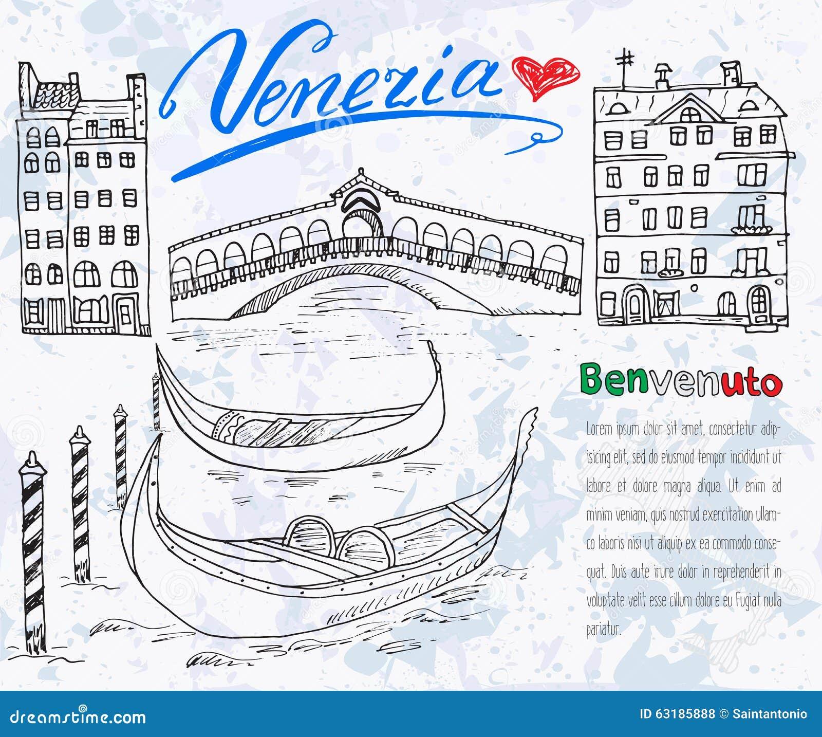 Italian Map Cartoon Vector