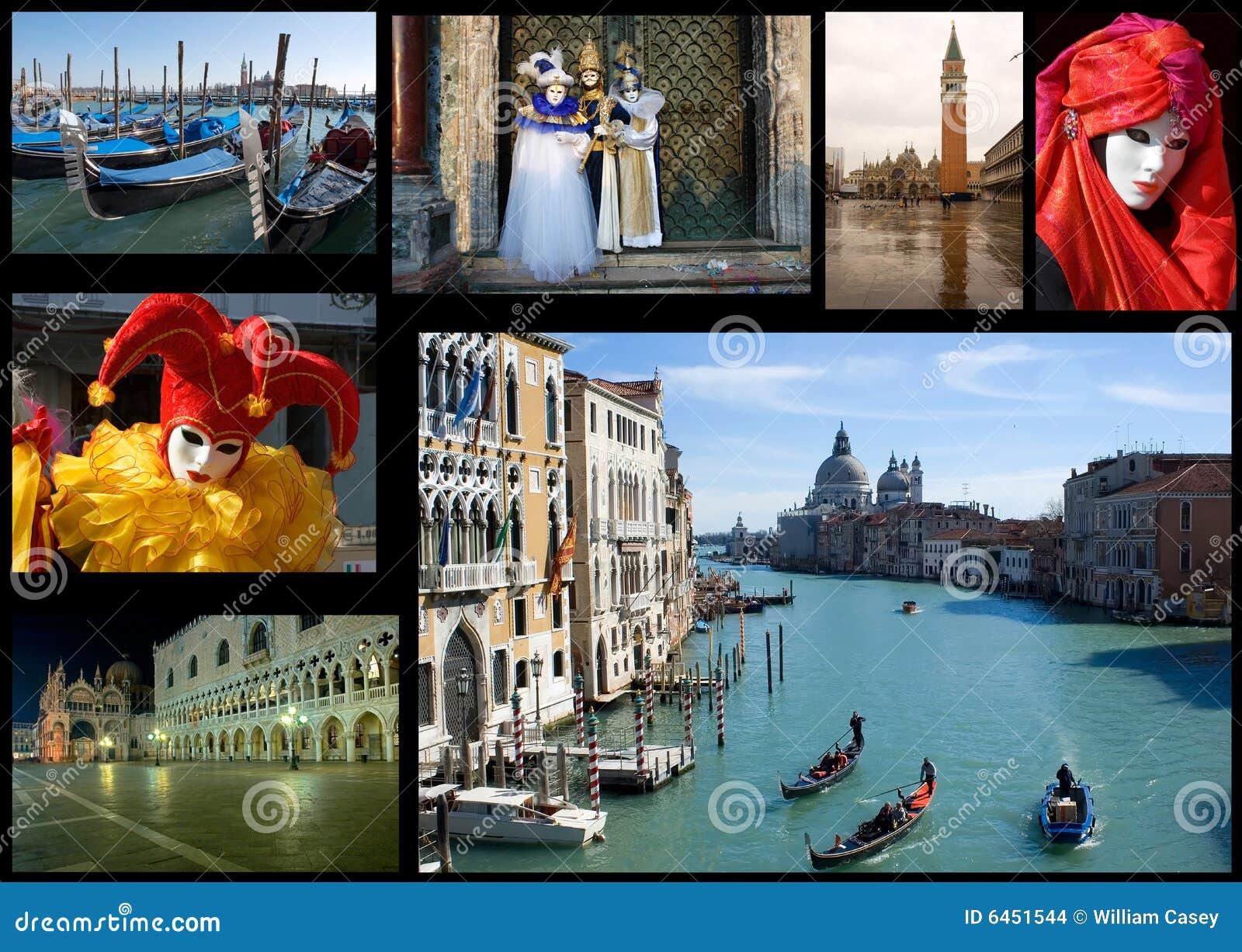 Venice kolaż