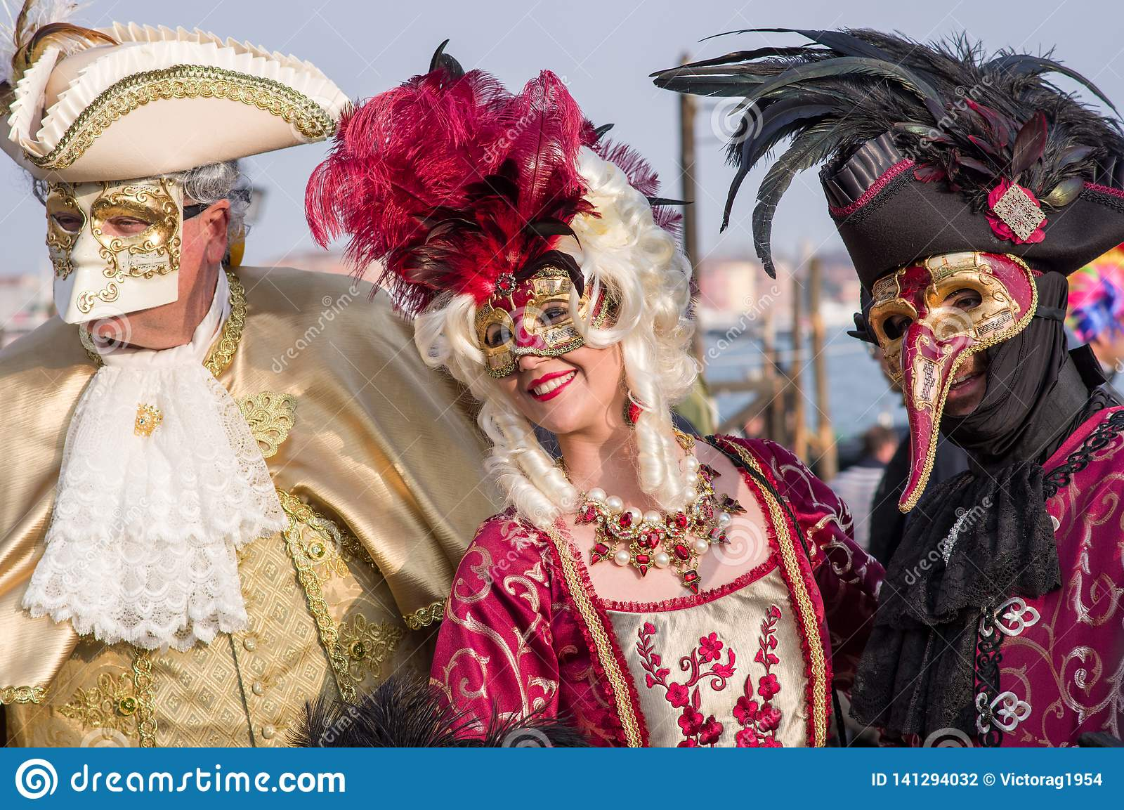 Venice Masks, Carnival 2019 Editorial Photography - Image of