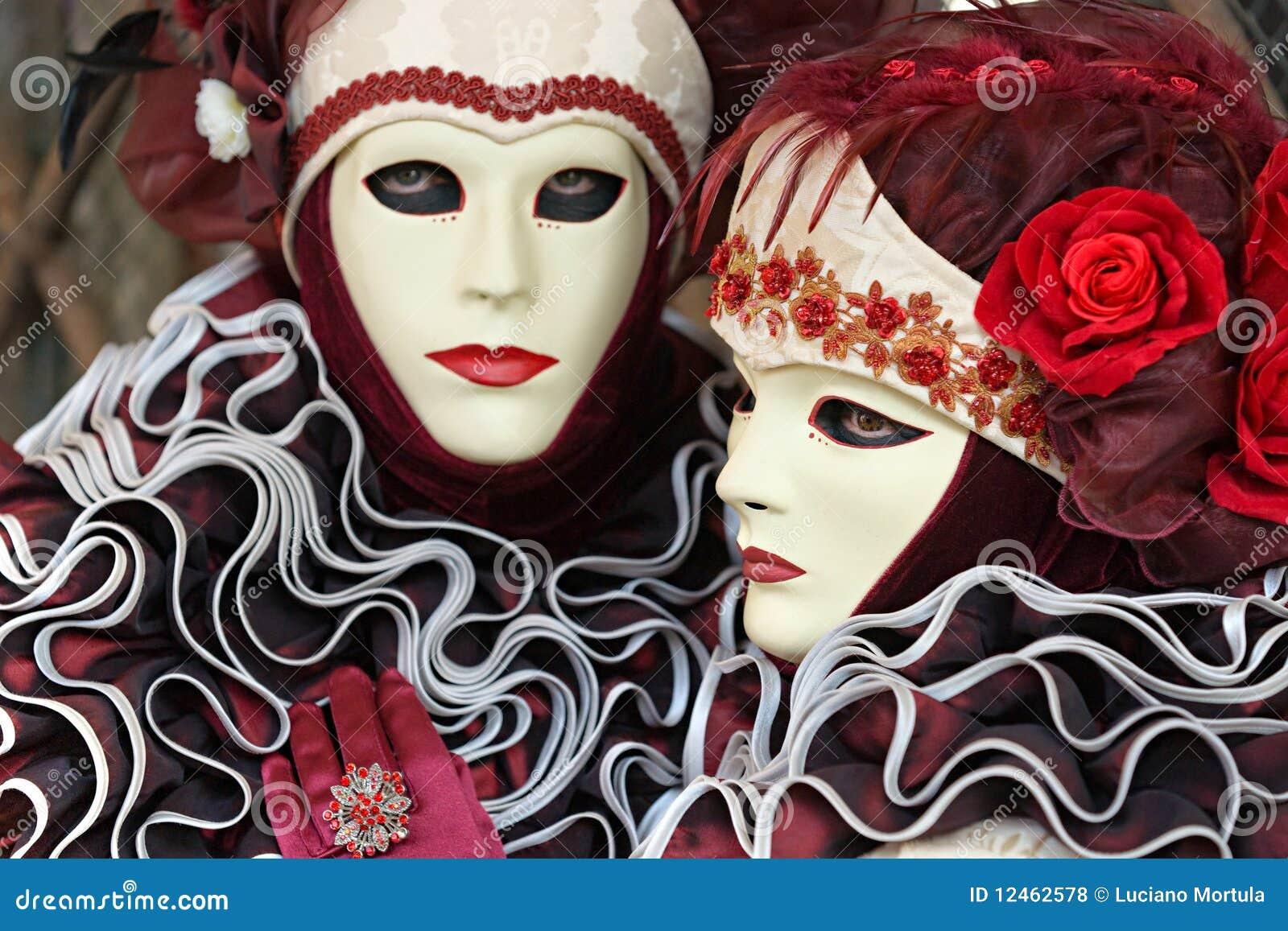 Venice masks carnival focus on the right mask stock - Mascaras de carnaval de venecia ...