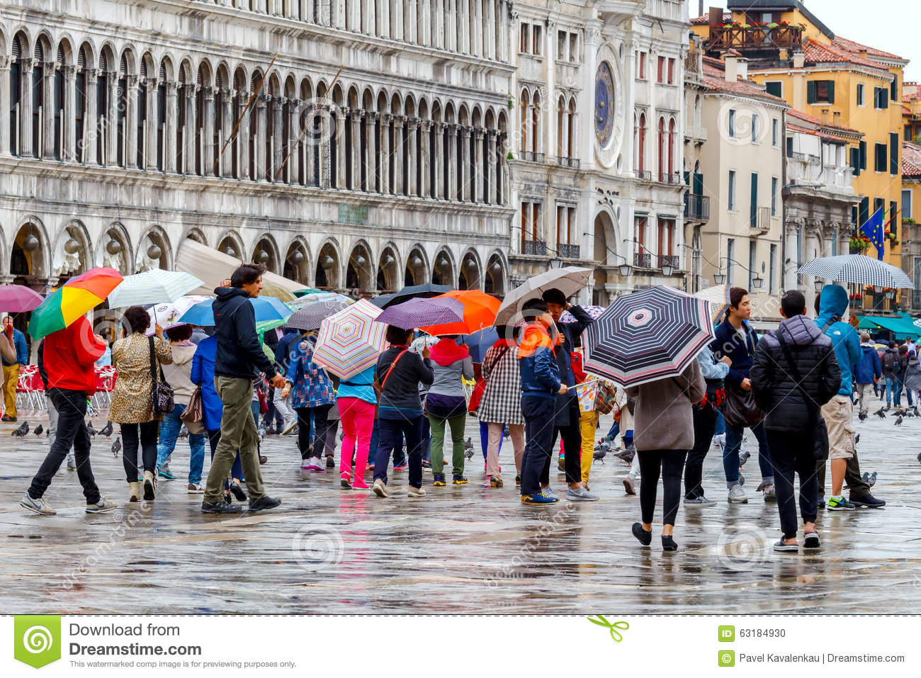 Venice on a rainy day editorial image image of scenic for What to see in venice in 2 days