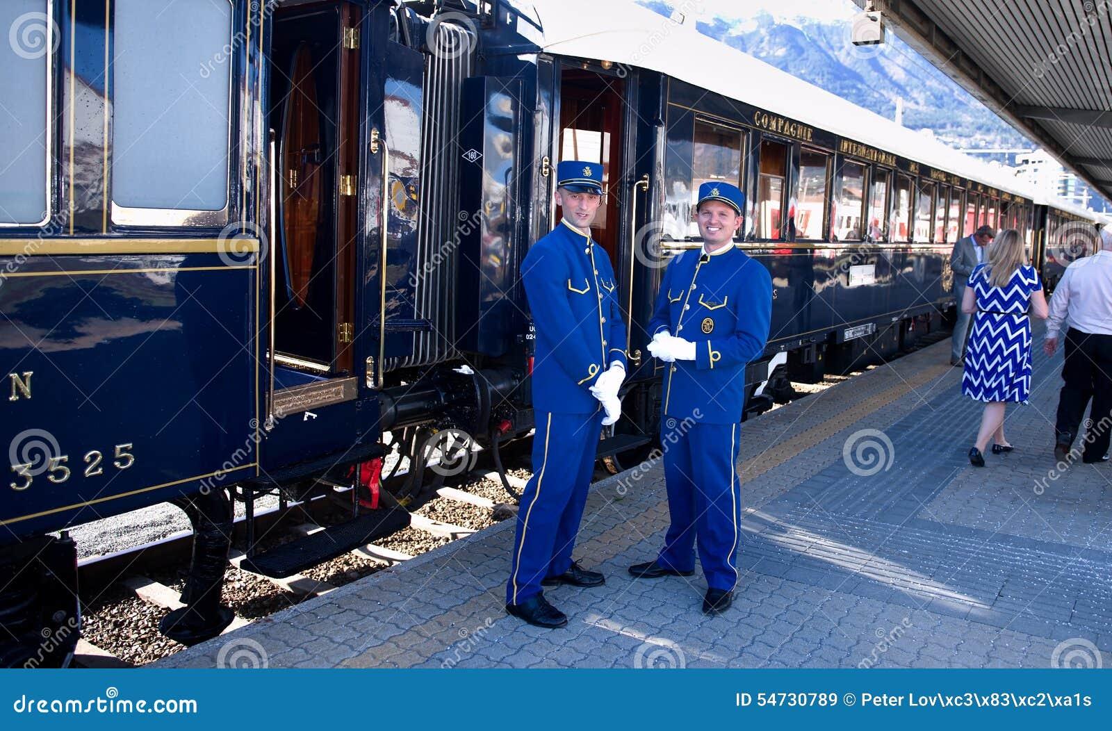 The Venice Simplon-Orient-Express - Conductors