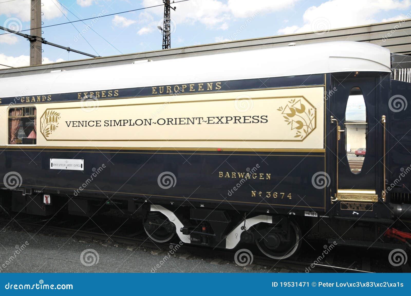 The Venice Simplon Orient Express In Innsbruck Editorial