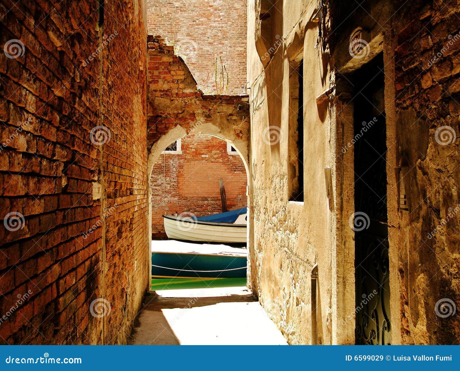 Venise, point de raccordement