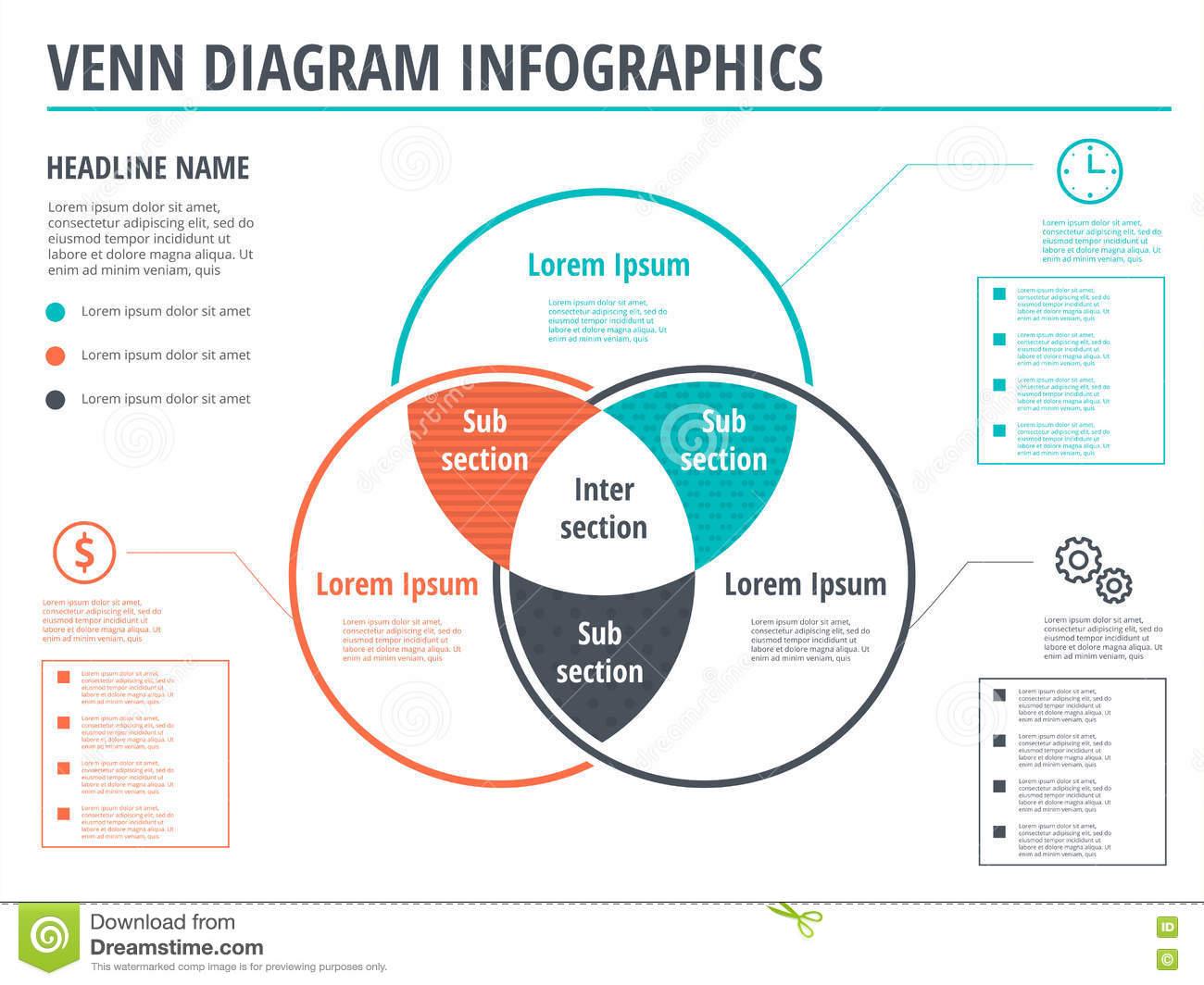 File Diagrams People And A Venn Diagram Stock Illustration Manual Guide