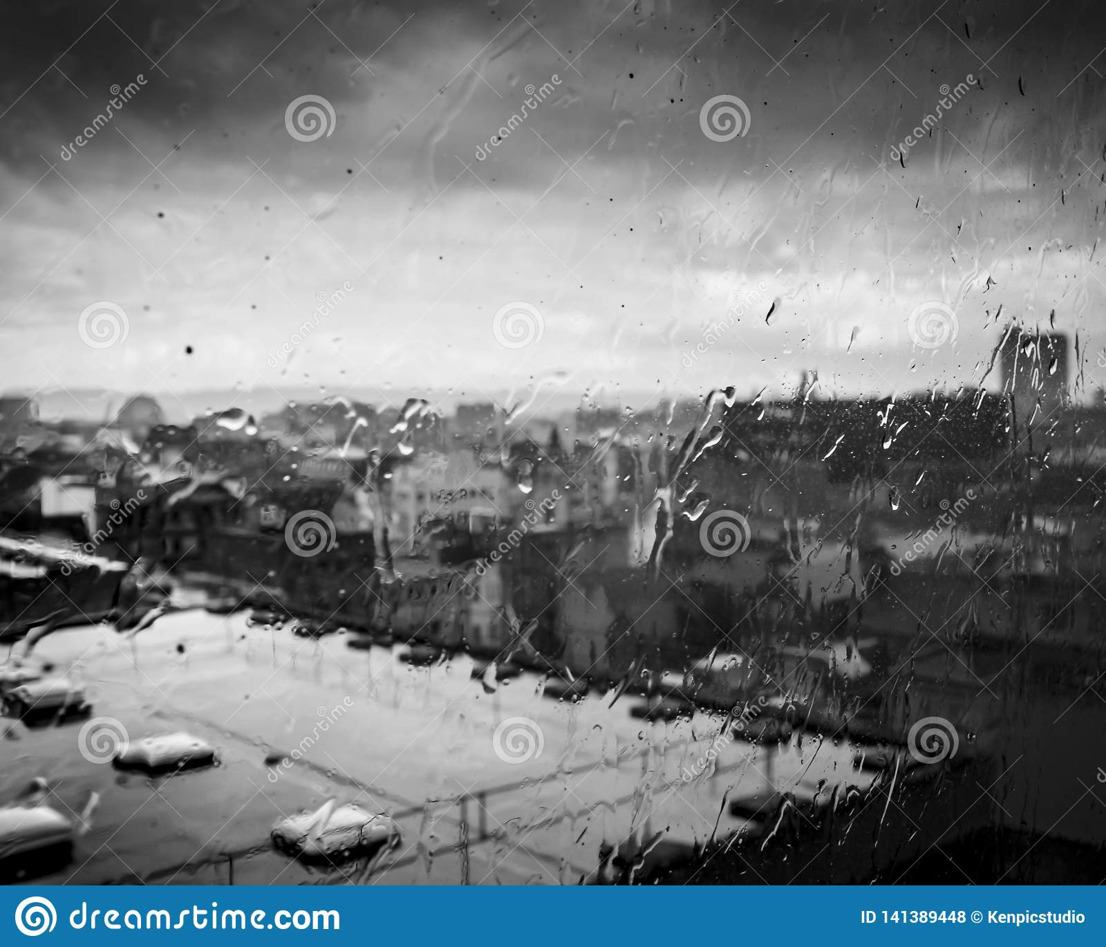 Venstermening van dakbovenkant, Belfast